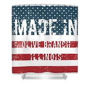 Made In Olive Branch, Illinois Shower Curtain