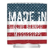 Made In Olive Branch, Mississippi Shower Curtain