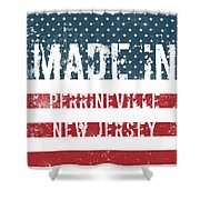 Made In Perrineville, New Jersey Shower Curtain