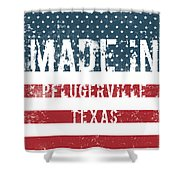 Made In Pflugerville, Texas Shower Curtain