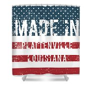 Made In Plattenville, Louisiana Shower Curtain