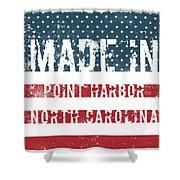 Made In Point Harbor, North Carolina Shower Curtain