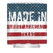 Made In Port Aransas, Texas Shower Curtain