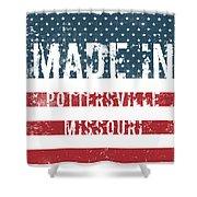 Made In Pottersville, Missouri Shower Curtain