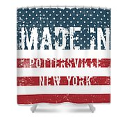 Made In Pottersville, New York Shower Curtain