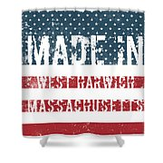 Made In West Harwich, Massachusetts Shower Curtain