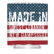 Made In West Lebanon, New Hampshire Shower Curtain