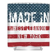 Made In West Lebanon, New York Shower Curtain