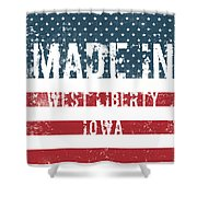Made In West Liberty, Iowa Shower Curtain