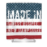 Made In West Ossipee, New Hampshire Shower Curtain