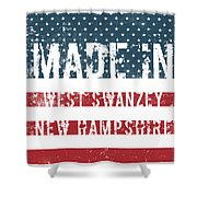 Made In West Swanzey, New Hampshire Shower Curtain