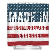 Made In Westmoreland, Tennessee Shower Curtain