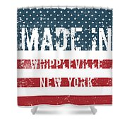 Made In Whippleville, New York Shower Curtain