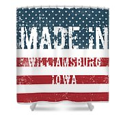Made In Williamsburg, Iowa Shower Curtain