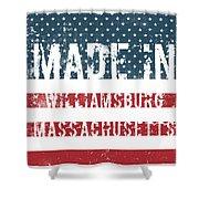 Made In Williamsburg, Massachusetts Shower Curtain