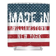 Made In Williamstown, New York Shower Curtain
