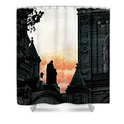 Madonna And Child II Shower Curtain
