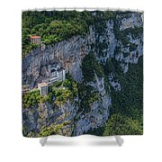 Madonna Della Corona - Italy Shower Curtain
