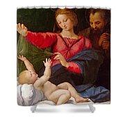 Madonna Of Loreto Shower Curtain