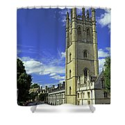 Magdalen Tower Shower Curtain