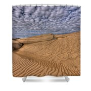 Magic Of The Dunes Shower Curtain