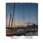 Magic Sky In Baltimore Shower Curtain
