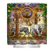 Magical Moment In Time Shower Curtain