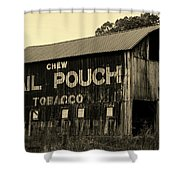 Mail Pouch Tobacco Barn Shower Curtain