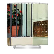 Mailboxes Shower Curtain