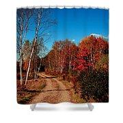Maine Fall Shower Curtain