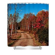 Maine October Shower Curtain