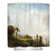 Majesty Of The Mountains Shower Curtain