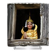 Makala Dancer In Cambodia Shower Curtain