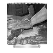 Mama's Hands Shower Curtain