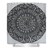 Mandal2 Shower Curtain
