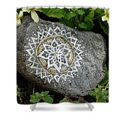 Mandala Stone  Shower Curtain