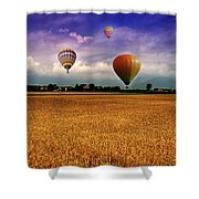Manipulation Shower Curtain