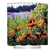 Manitoulin Shores Shower Curtain