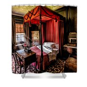 Mansion Bedroom Shower Curtain