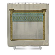 Mantel Looking Glass Shower Curtain
