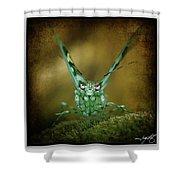 Mantis 5 Shower Curtain