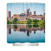 Mantua Skyline Shower Curtain
