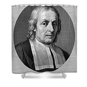 Marcello Malpighi, Italian Inventor Shower Curtain