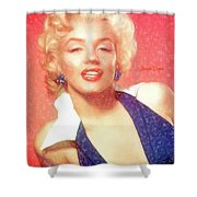 Marilyn Monroe - Pencil Style Shower Curtain