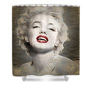 Marilyn Monroe Portrait Shower Curtain