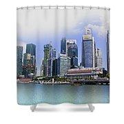 Marina Bay Singapore Shower Curtain