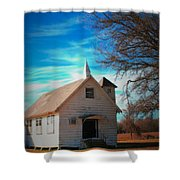 Marsh Berea Church Shower Curtain