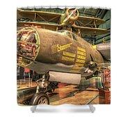 Martin B-26g, Marauder, Shootin In Shower Curtain