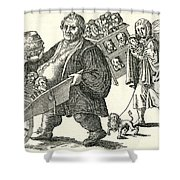 Martin Luther (1483-1546) Shower Curtain