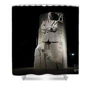 Martin Luther King, Jr. Memorial Shower Curtain